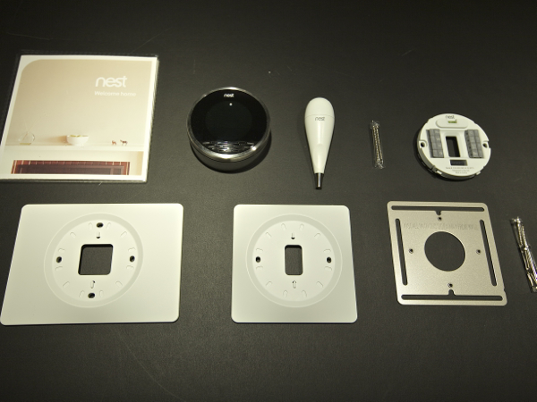 Nest Learning Thermostat Contents