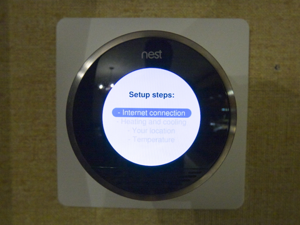 Nest Learning Thermostat Connected