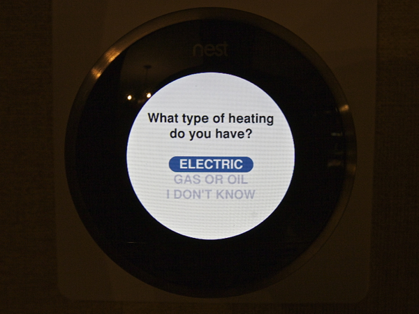 Nest Learning Thermostat Setup Questions