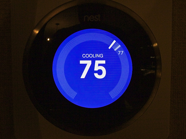 Nest Learning Thermostat Setup Complete