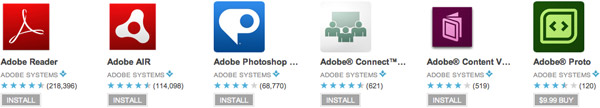Adobe Apps on Google Play