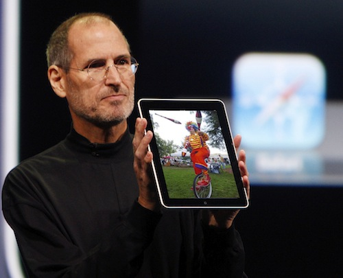 Jobs iPad Clown