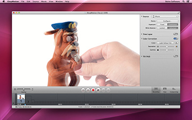 iStopMotion 3 Adds iPhone, iPad camera support