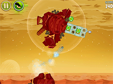 Angry Birds Space goes to Mars