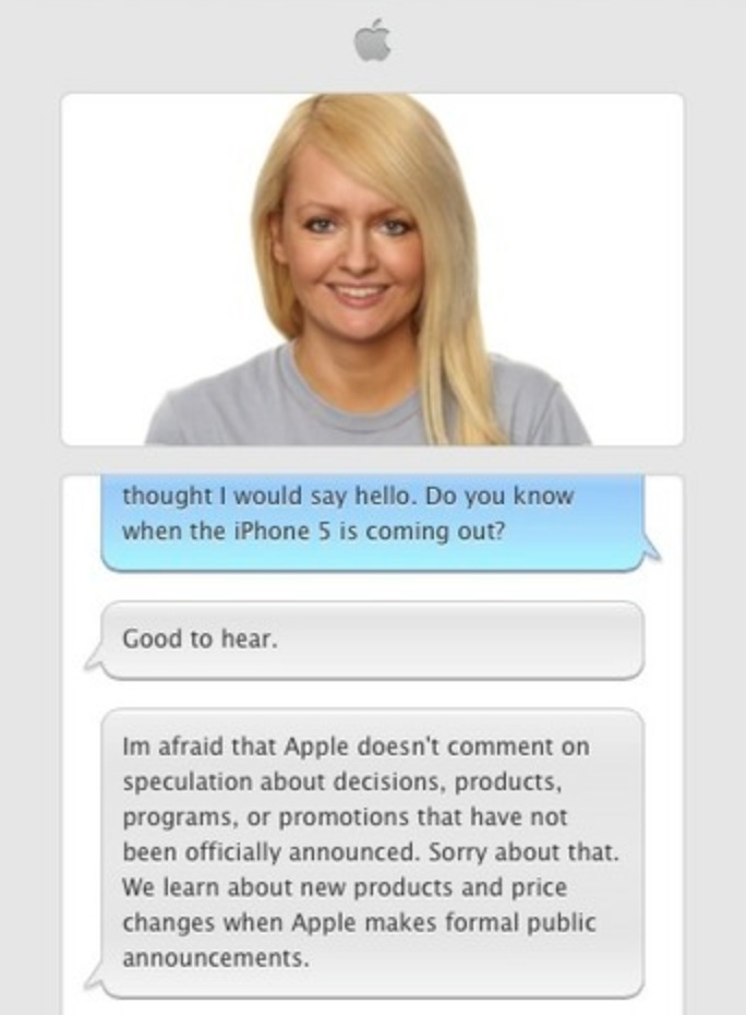 Apple Online Store Chat
