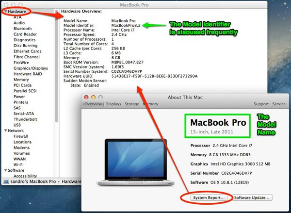 About This Mac leads to even more information.