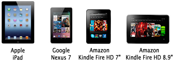 Tablet Spec Comparison