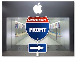 Apple Retail Stores Profit First