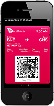 Virgin Australia: We're supporting Passbook