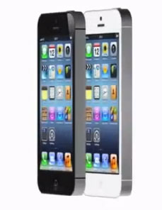Rendered iPhone 5 Models in Fake Video