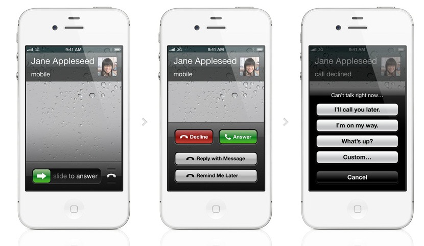 iOS 6 Phone Features