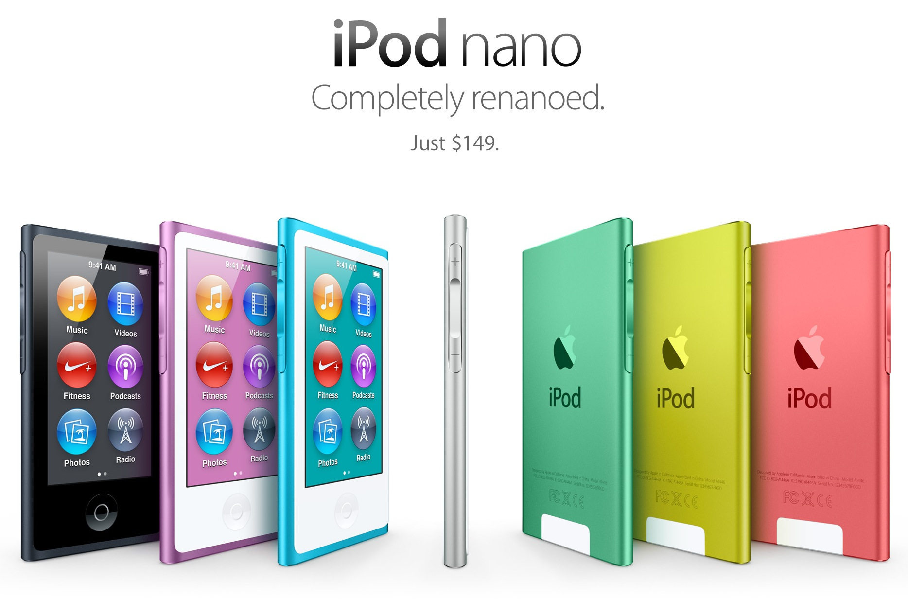 apple announces new 7th generation ipod nano the mac. Black Bedroom Furniture Sets. Home Design Ideas