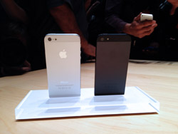 iPhone 5 Ivory & Ebony