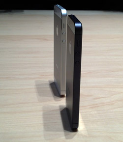 iPhone 5 Side-by-Side