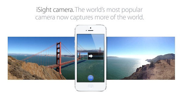 Apple: iOS 6 Panorama Camera Mode Also Available on iPhone