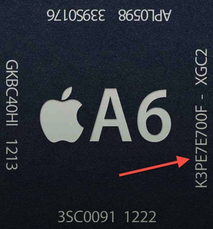 iPhone 5 A6 Memory Bandwidth
