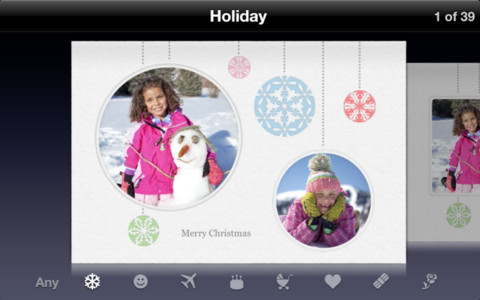 Apple updates cards to 20 ipad support new templates the mac cards was first released in october 2011 along with ios 5 and the iphone 4s the free app allows users to design greeting cards directly on their idevice m4hsunfo