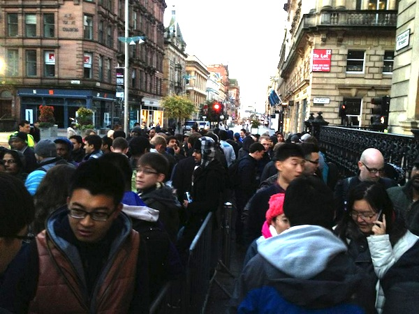 iPhone 5 Lines
