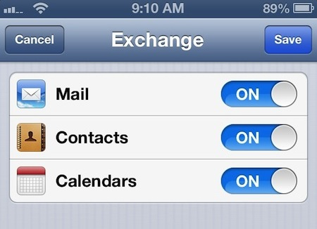 Gmail Exchange Setup iPhone