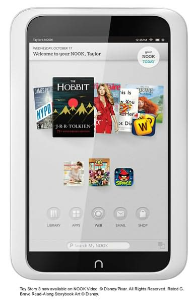 Nook HD Tablet