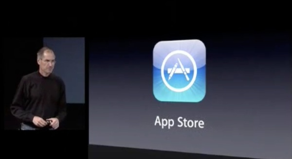 Steve Jobs Apple App Store