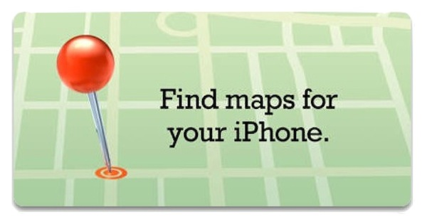 Third Party App Store Maps