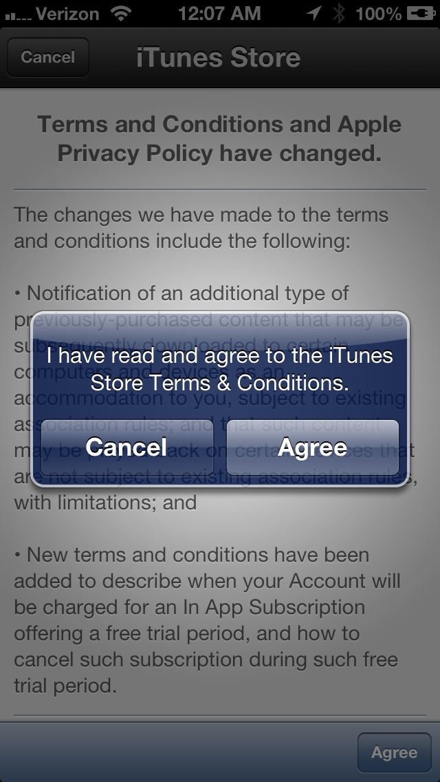 iTunes Store Outage
