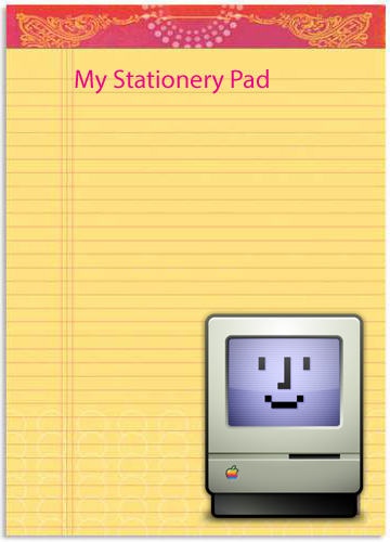 My Stationery Pad