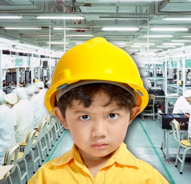 Foxconn Underaged Workers