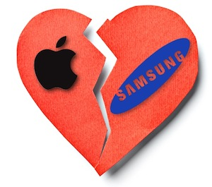 Apple Samsung Display Breakup