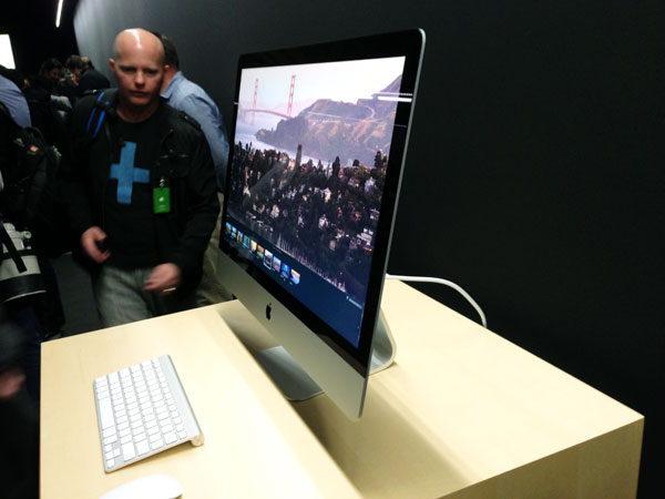 Hands On Apple's New iMac