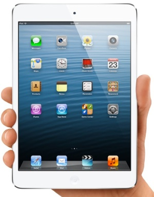 iPad mini with LTE fast wireless data network support lands in stores