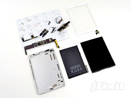 iFixit strips down iPad mini before hit officially launches