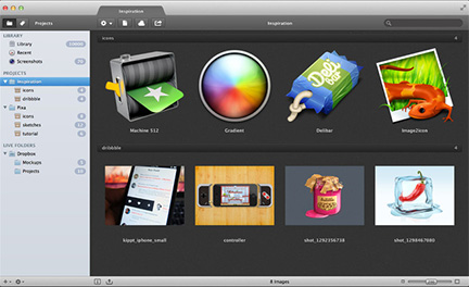 Pixa can auto-organize images on your Mac