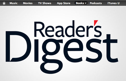 Reader's Digest on iBooks