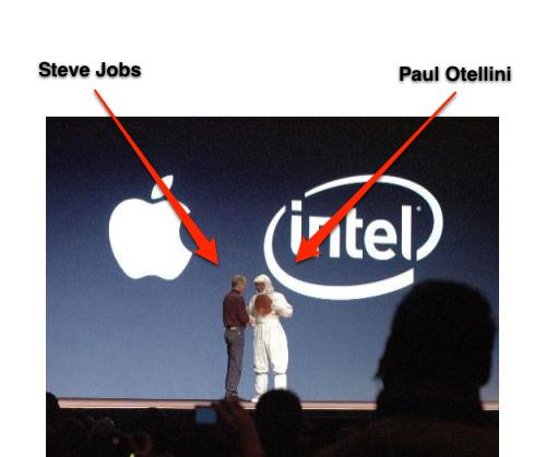 Steve Jobs & The Bunny Suit