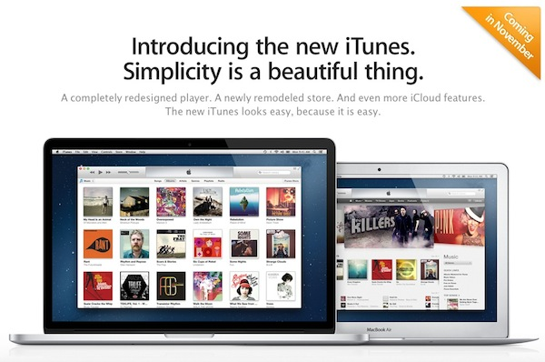 iTunes 11 Launch