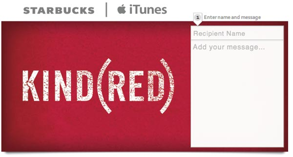 Starbucks & iTunes (RED) Gift Card