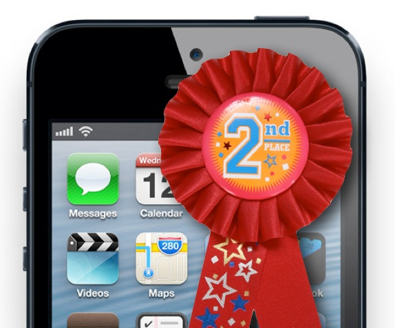 October 2012 comScore Apple Number 2 Phone Maker