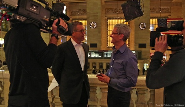 Tim Cook NBC Interview