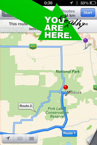 You are here, no really!