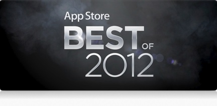Apple's App Store best of picks for 2012
