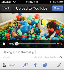 YouTube Capture Screen