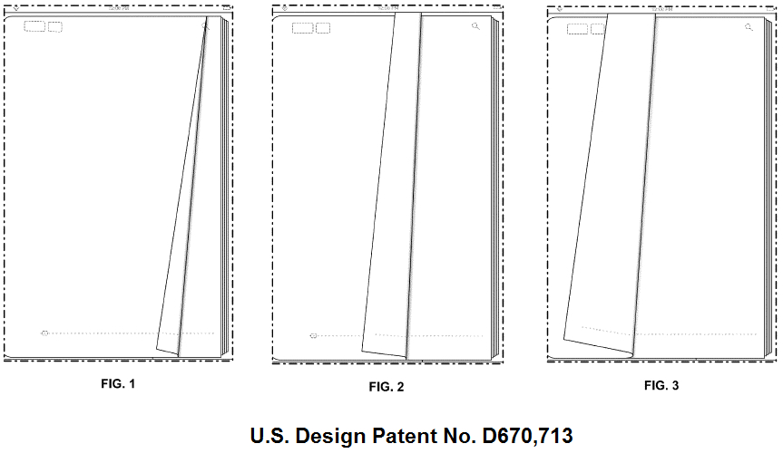Apple Page Turn Patent Challenge
