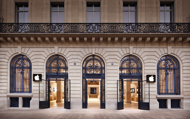 Apple Store Paris Robbery