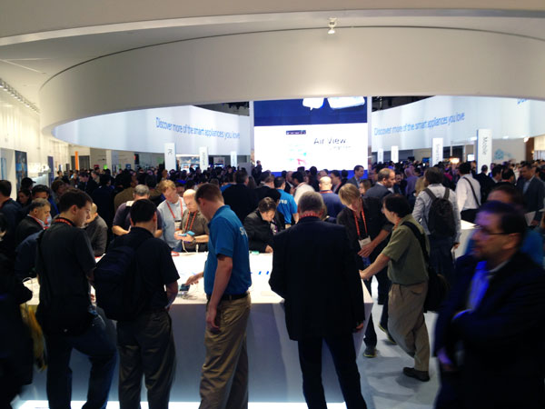 Samsung's Booth
