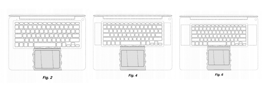 Apple Unibody Glass Trackpad Patent