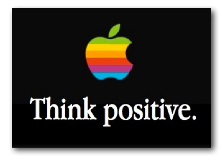 Apple iPhone Cuts Think Positive