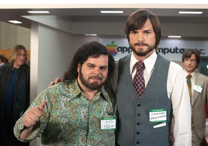 jOBS Biopic Ashton Kutcher Josh Gad