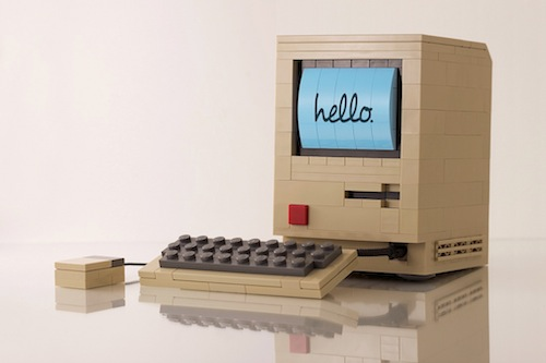 Flickr User Builds Amazing Lego Model of Original Mac